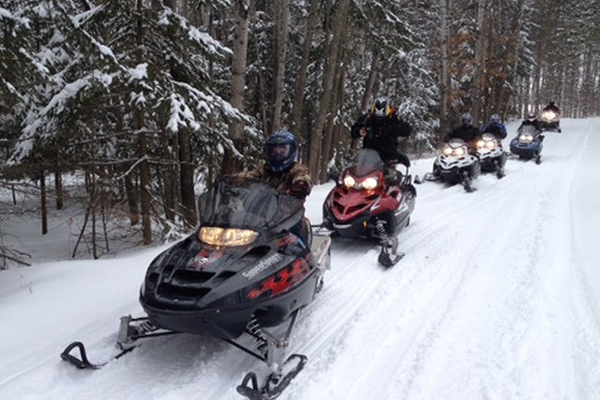 Snowmobile Trails Lakeville
